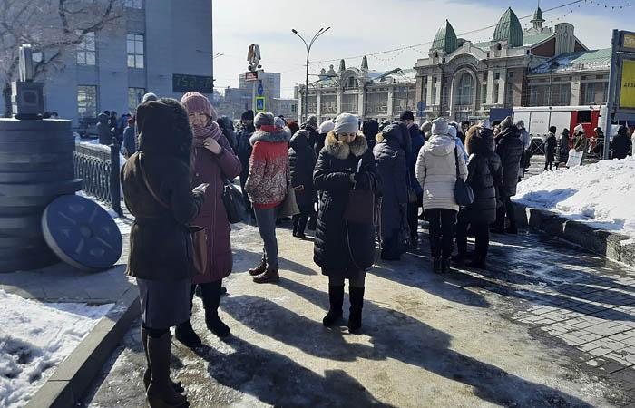 В мэрии Новосибирска провели эвакуацию