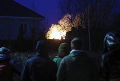 Устроивший стрельбу под Мытищами сам поджег свой дом