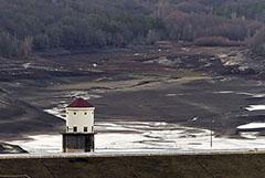 В водохранилищах Крыма оказалось в 1,7 раза меньше воды, чем год назад