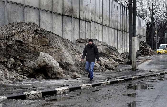 До 20% месячной нормы осадков выпало за ночь в Москве