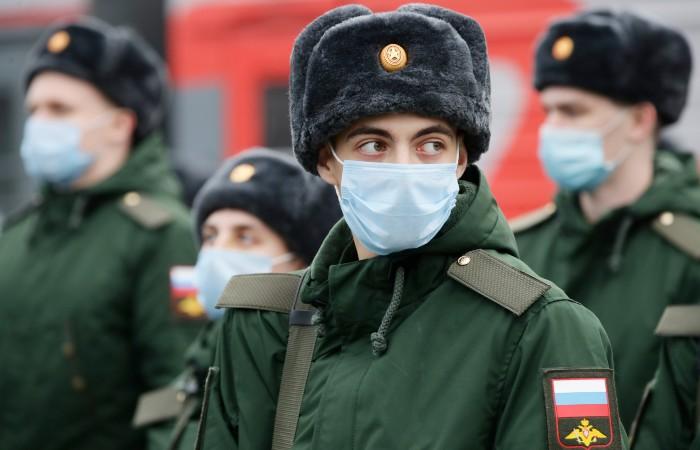 Отправка российских призывников в войска начнется 15 апреля