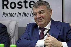 """Сердюков перестанет курировать """"Объединенную авиастроительную корпорацию"""""""