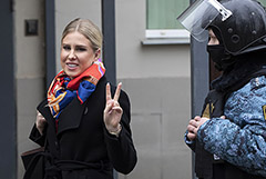 Мосгорсуд отменил домашний арест Олега Навального и Любови Соболь