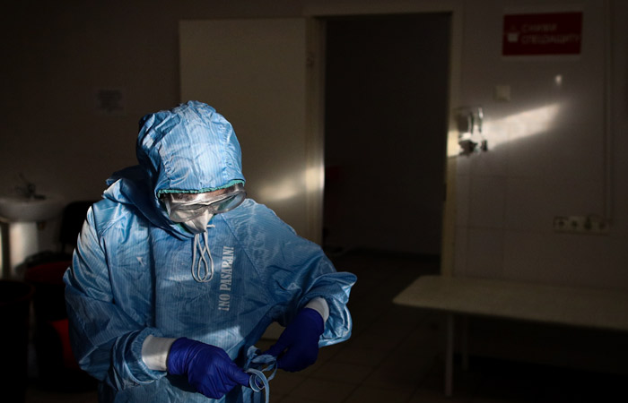 В России за сутки выявлено 9 тыс. случаев коронавируса