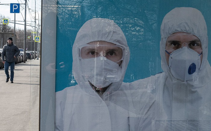 В России за сутки выявлено 8,7 тыс. новых случаев коронавируса
