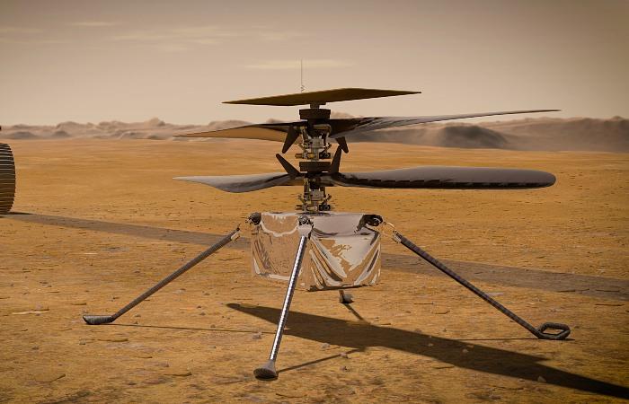 Вертолет НАСА в воскресенье совершит первый полет на Марсе