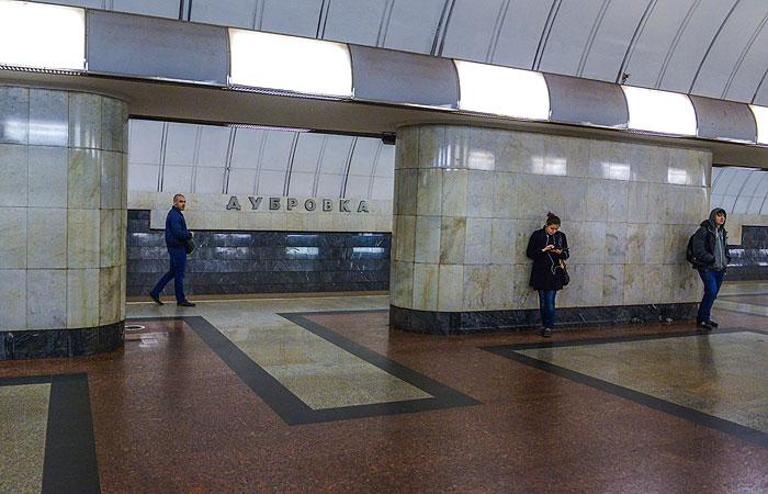 Движение на участке салатовой ветки метро ограничат с 1 по 23 мая