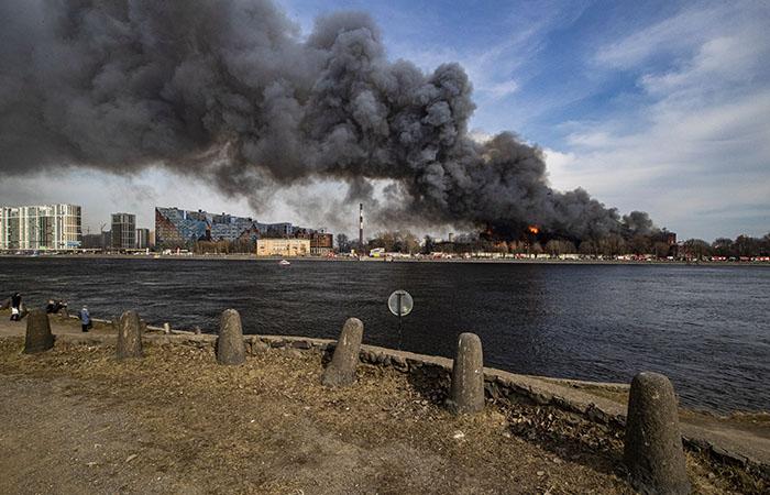 """Потушен пожар в хостеле рядом с """"Невской мануфактурой"""""""