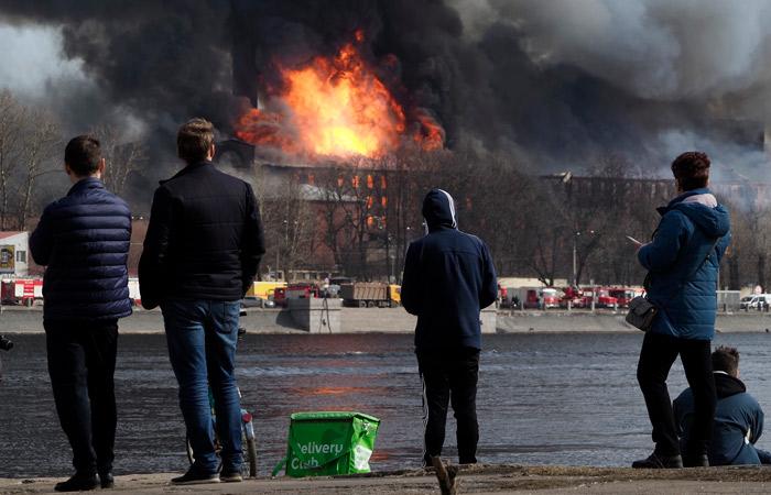 """Противопожарные нарушения на """"Невской мануфактуре"""" игнорировали 7 лет"""