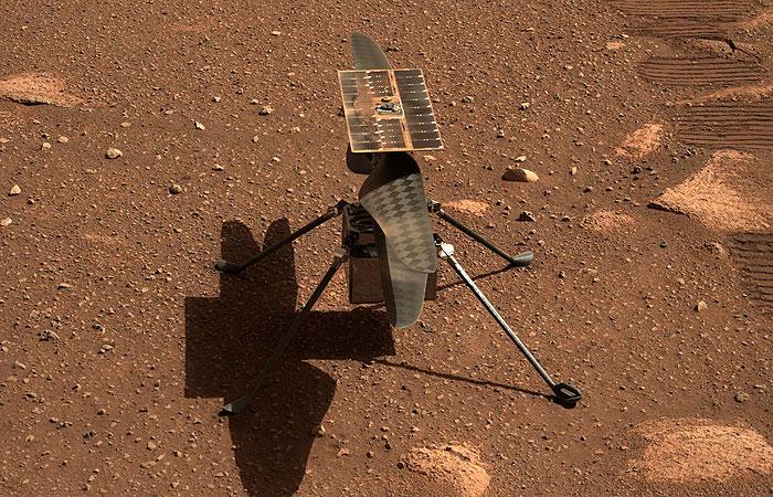 Первый полет вертолета НАСА на Марсе запланирован на 19 апреля