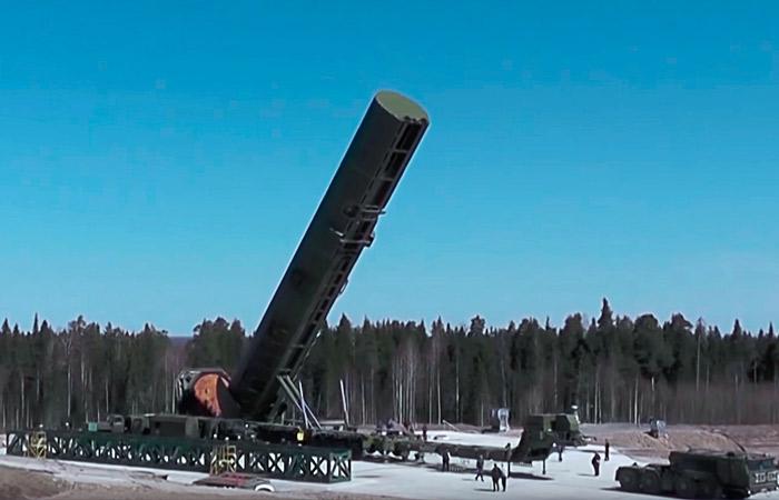 """Первый полк с новыми ракетами """"Сармат"""" встанет на дежурство в 2022 году"""