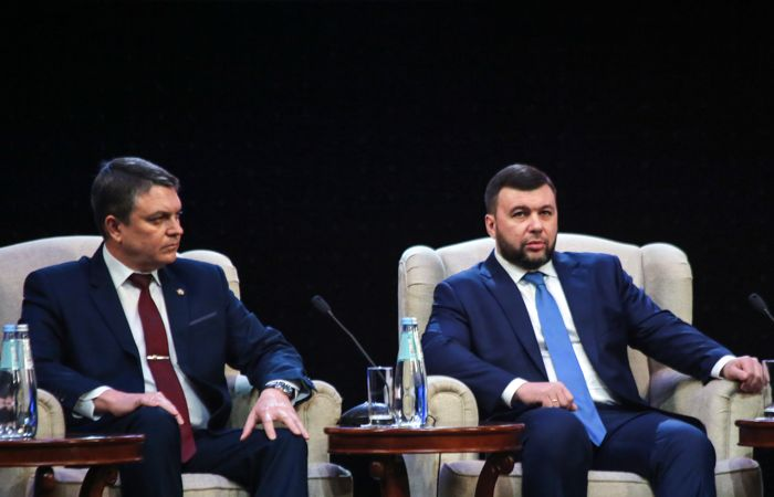 Главы ДНР и ЛНР пригласили Зеленского в Донбасс