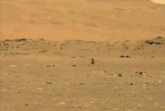 Вертолет НАСА совершил второй успешный полет на Марсе