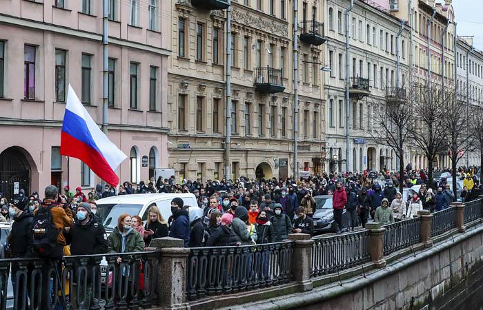 Первые несколько человек арестованы в Петербурге за акцию 21 апреля