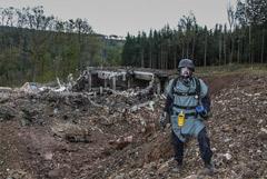 """В СВР назвали """"убогой ложью"""" версию о причастности спецслужб РФ к взрыву в Чехии"""