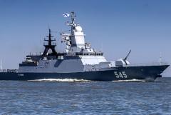 Отряд российских боевых кораблей на пути из Сирии домой прошел Ла-Манш