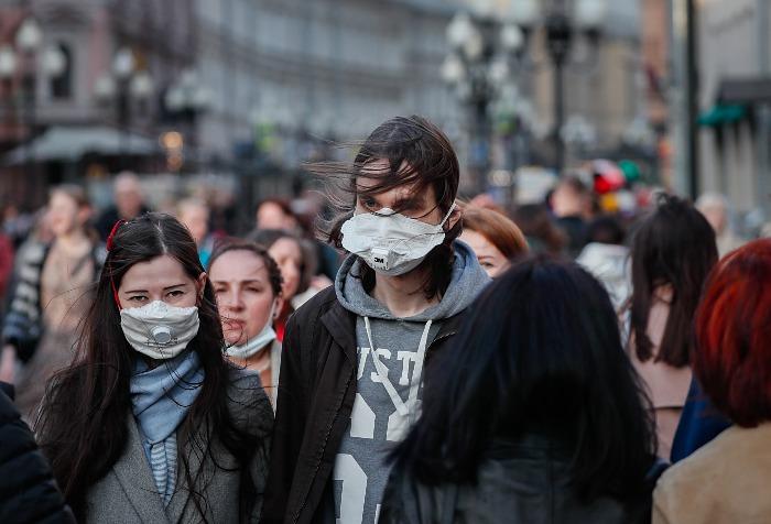 В России за сутки выявлено 8,7 тыс. случаев заражения коронавирусом