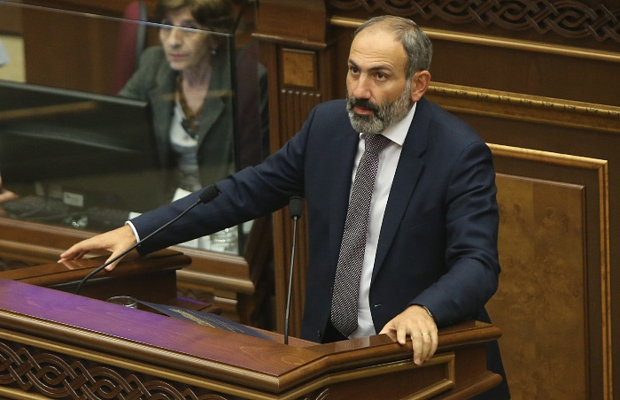 Пашинян ушел в отставку с поста премьера Армении