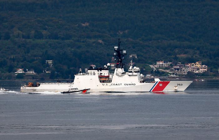 Американский патрульный корабль направился в Черное море