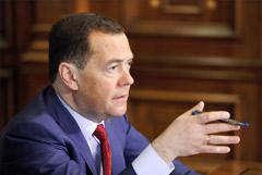 Медведев снова назвал Навального политическим проходимцем