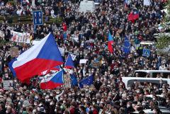 В Чехии прошли массовые протесты против президента страны