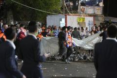 Десятки человек погибли при обрушении трибун на религиозном празднике в Израиле