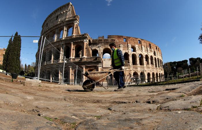 Министр культуры Италии рассказал о проекте реставрации пола Колизея
