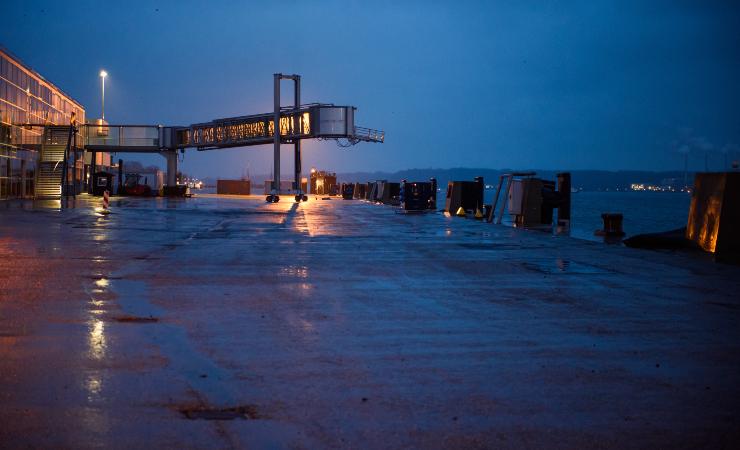 Белоруссия запланировала построить терминал в российских портах