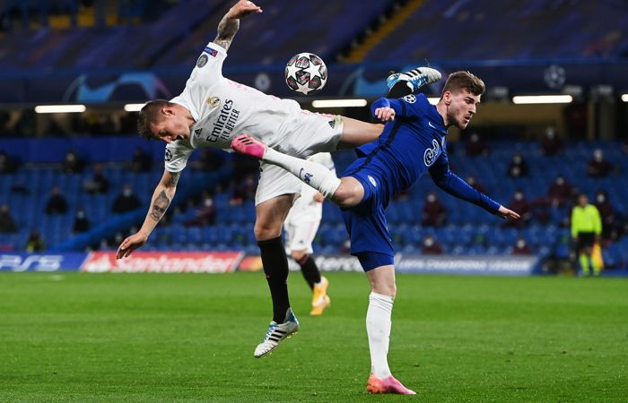 """""""Челси"""" победил """"Реал"""" и вышел в финал Лиги чемпионов УЕФА"""