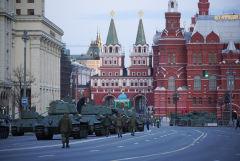 Генеральная репетиция военного парада пройдет на Красной площади 7 мая
