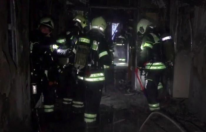 После пожара в отеле на юго-востоке Москвы арестован его гендиректор