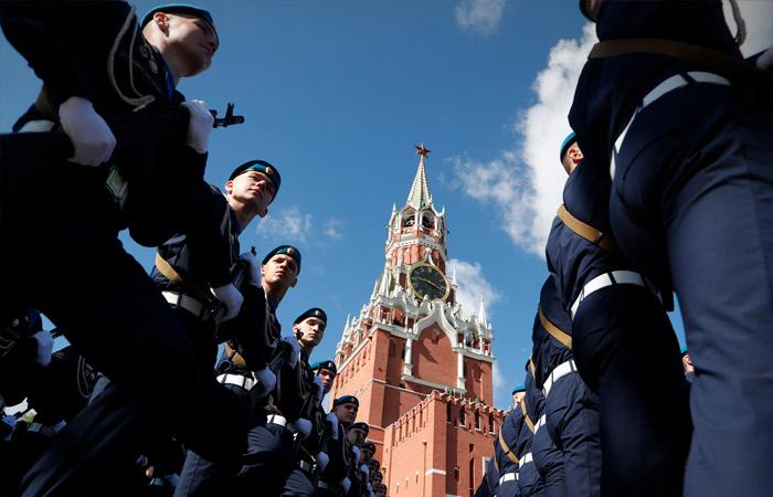 Генеральная репетиция военного парада прошла в Москве