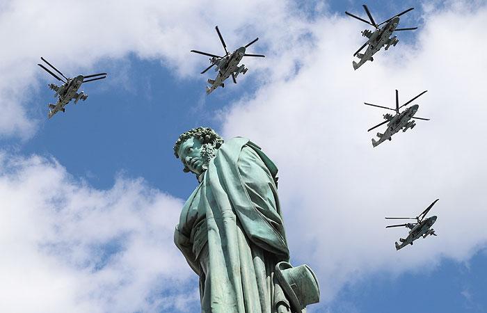 Решение о воздушном параде в Москве в связи с погодой примут перед его началом