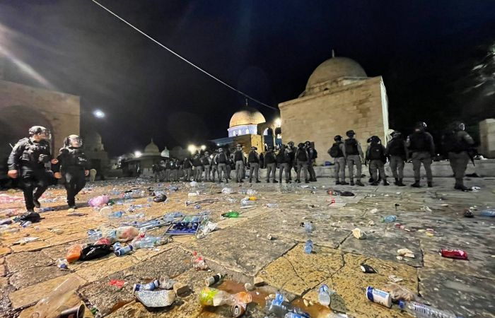 Более 200 человек пострадали в столкновениях в восточном Иерусалиме