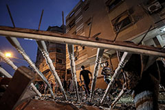 Израиль уничтожил 130 целей в секторе Газа в ответ на пуски ракет