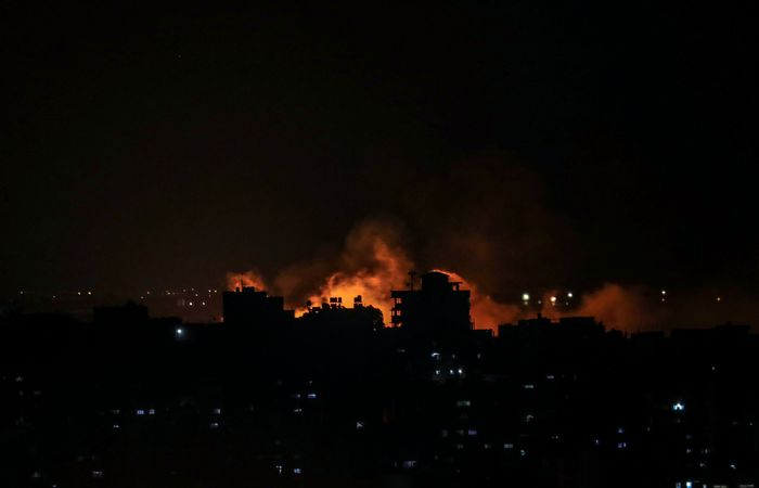Наземные и воздушные войска Израиля начали атаку на сектор Газа