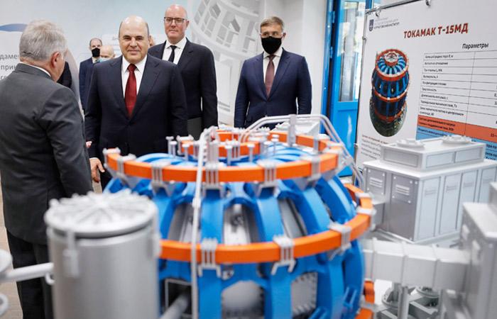 Мишустин выразил надежду, что токамак поможет создать неиссякаемый источник энергии