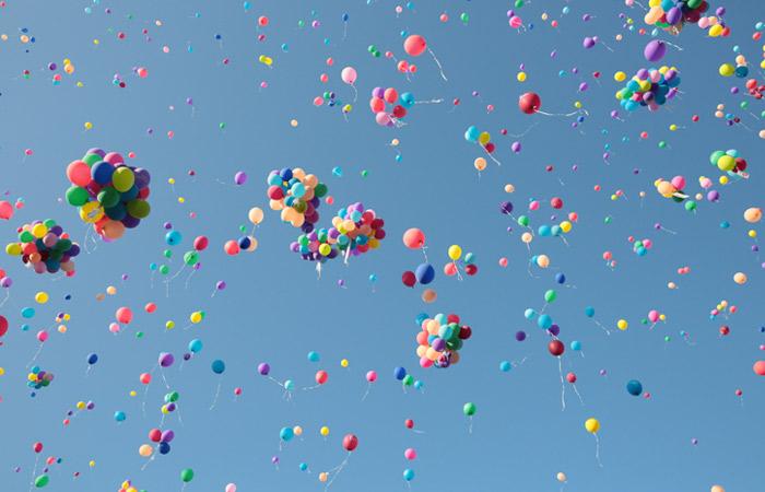 В Подмосковье предложили отказаться от запуска шариков на мероприятиях