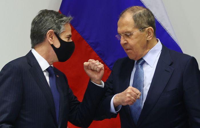 Лавров назвал конструктивными переговоры с Блинкеном