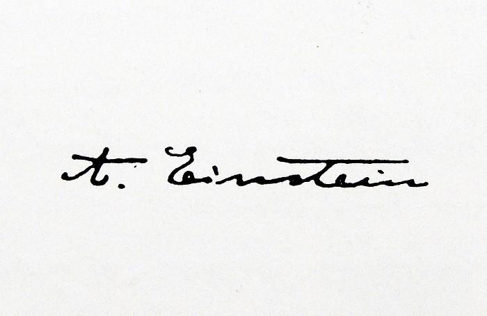 Письмо Эйнштейна с формулой E=mc2 ушло с молотка за $1,2 млн