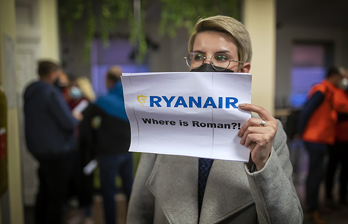 Авиакомпания Ryanair осудила инцидент со своим самолетом в Белоруссии