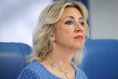 Захарова напомнила о посадке самолета президента Боливии на фоне заявлений Запада