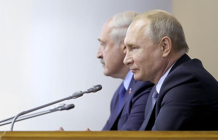 Встреча Путина и Лукашенко состоится в конце мая