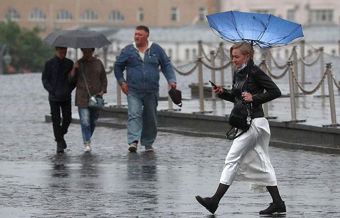 За день в Москве выпало около 40% месячной нормы осадков