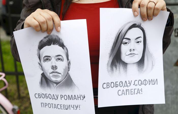 Задержанная в Минске россиянка Сапега переведена под домашний арест