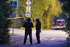 От пьяницы, ранившего в Екатеринбурге девочку и росгвардейца, ушла жена