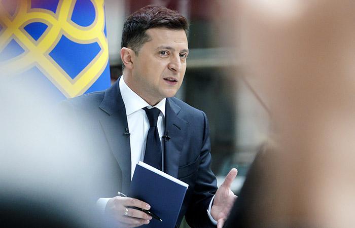 Зеленский заявил, что Киев опасается попытки российского блицкрига