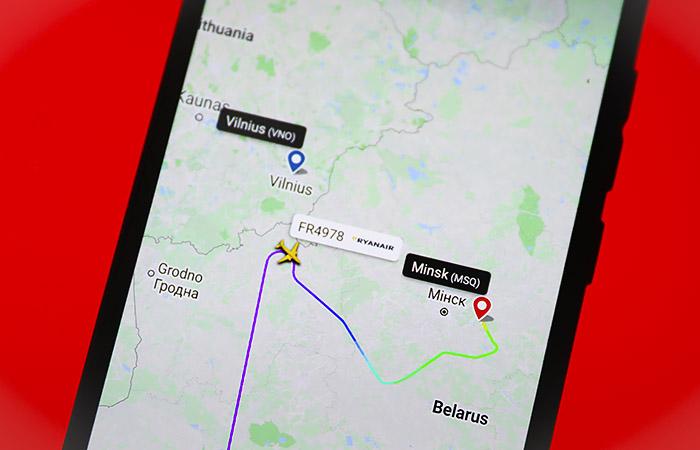 Путин заявил о непричастности российских спецслужб к инциденту с Ryanair