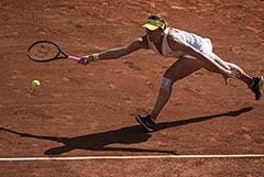 Российская теннисистка Павлюченкова вышла в полуфинал Roland Garros