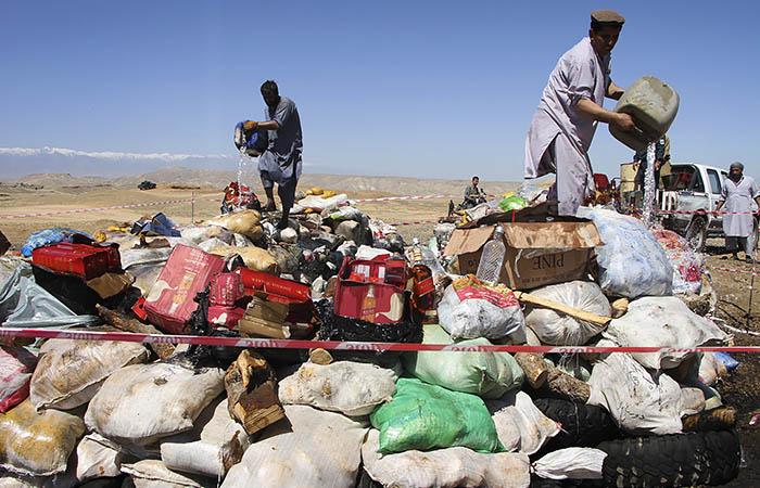 Военные ФРГ объяснили, почему решили вывезти алкоголь из Афганистана